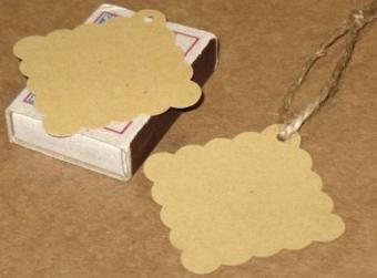 Бирки для изделий ручной работы своими руками