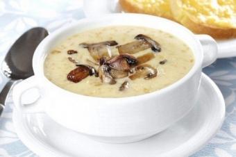 О грибных супах и суп-пюре от instacook.me