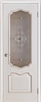 Межкомнатные двери классика с патиной